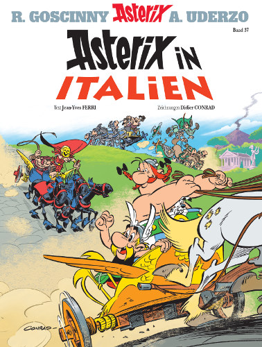 Asterix in Italien Cover